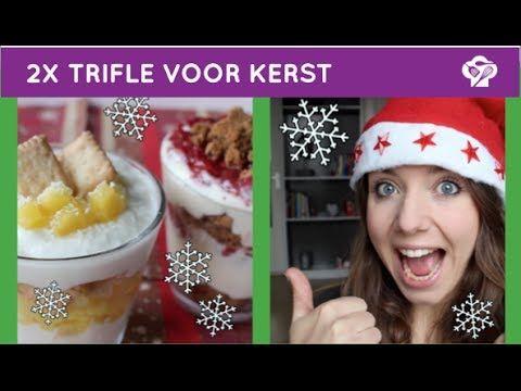 FOODGLOSS - 2x kerstdessert (trifle) - YouTube