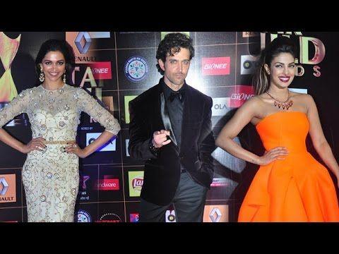 Deepika, Priyanka & Hrithik At Star Guild Awards