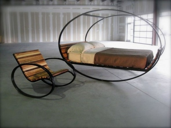 Sensational Interesting Design and Feeling with mood Rocking Bed