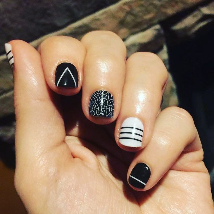 March #classicstyleboxjn so cute. Love #blackandwhitemani