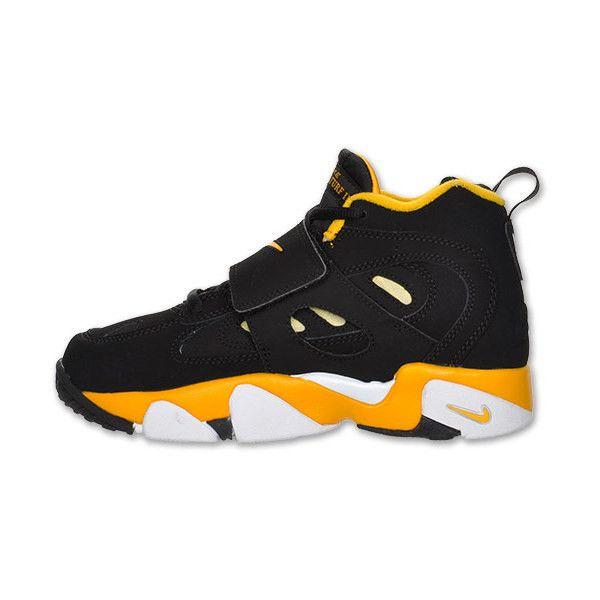Nike Air Diamond Turf 2 Preschool Training Shoes ($58) ❤ liked on Polyvore