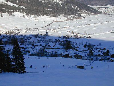 Skiing in Lermoos Austria