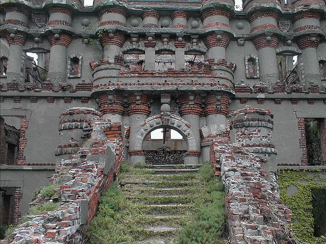 Pollepel Island (Bannerman's Castle) in New York