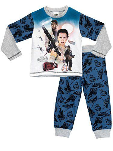 Star Wars Boys Star Wars Pyjamas Ages 3 to 13 Years - £4.95 http://amzn.to/2osrbVG
