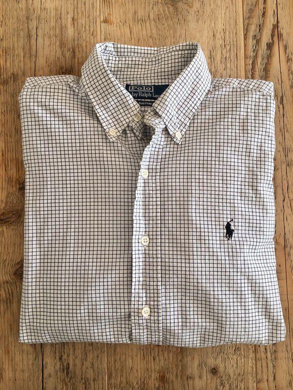 Mein Kariertes Hemd von Polo by Ralph Lauren  von Ralph Lauren! Größe 48-50 / M für 35,00 €. Sieh´s dir an: http://www.kleiderkreisel.de/herrenmode/karierte-hemden/156911927-kariertes-hemd-von-polo-by-ralph-lauren.
