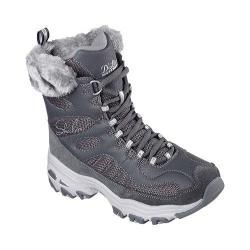 Shop for Women's Skechers D'Lites Chalet Lace Up Boot Charcoal. Get free shipping at Overstock.com - Your Online Shoes Outlet Store! Get 5% in rewards with Club O!