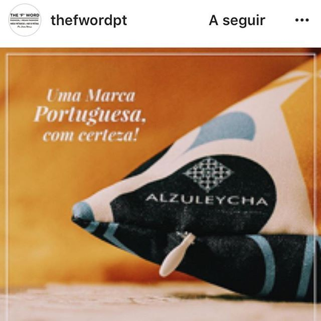 The blog @thefwordpt published an article about #Alzuleycha, check it out and explore more to get to now other #Portuguese products. Photo by @thefwordpt. <<>><<>><<>><<>><<>><<>><<>><<>>  #design #decoracao #decoração #decoration #decor #decorations #decoración #deco #dekorasyon #dekorasjon #dekor #dekoration #inredning #interior #interiordesign #designinterior #home #homedecor #pillow #almofadas #puter #kissen #almohada