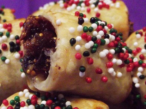 Italian Fig Cookies by JamJunkies on Etsy