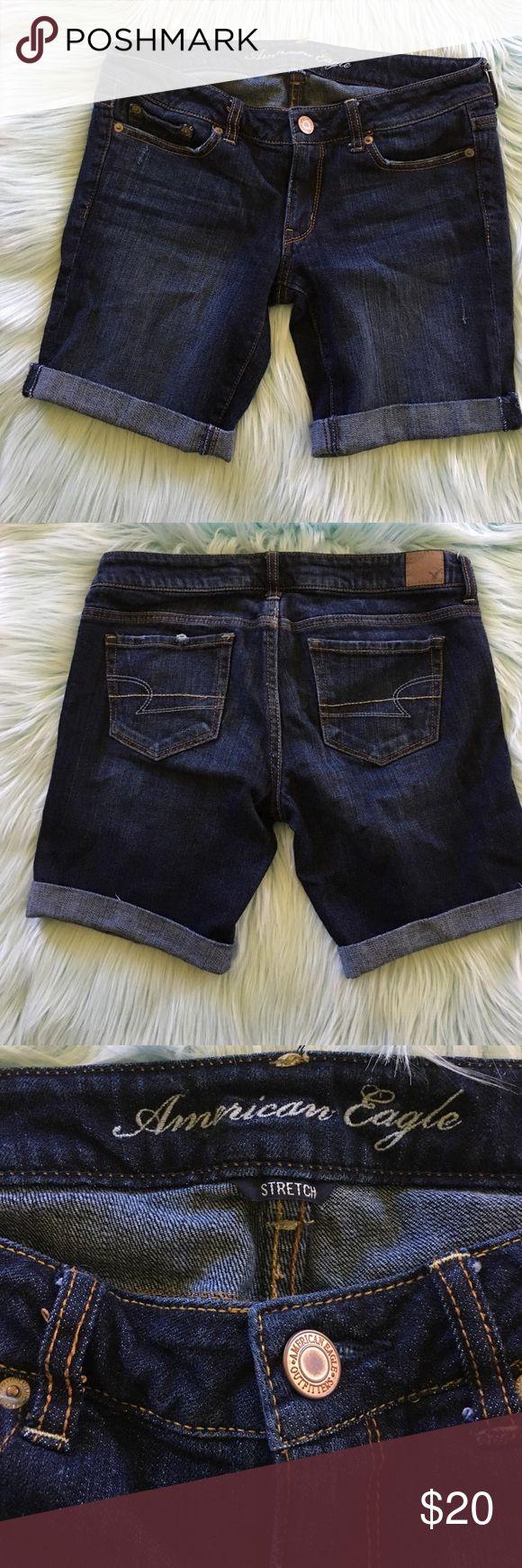 American Eagle size 6 stretch cut off jeans shorts American Eagle size 6 stretch cut off jeans shorts American Eagle Outfitters Shorts Jean Shorts