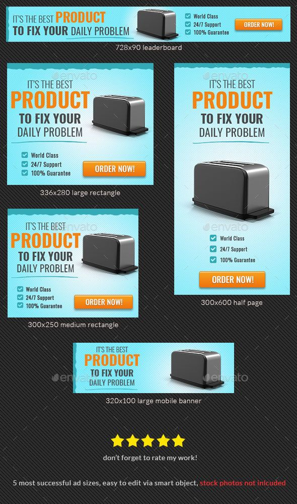 Dropshipping Product Banner Ad Template #Product