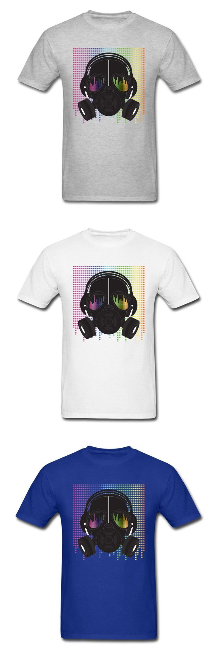 Custom DJ Masked Beats T Shirts 2018 Latest Design Pure Cotton O Neck Tops T-Shirt For Male Hip Hop Dance Tee Shirts On Sale