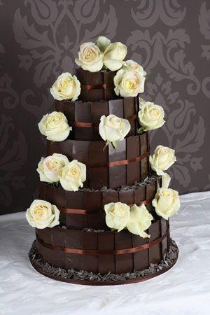 Belgian chocolate wedding cake recipe