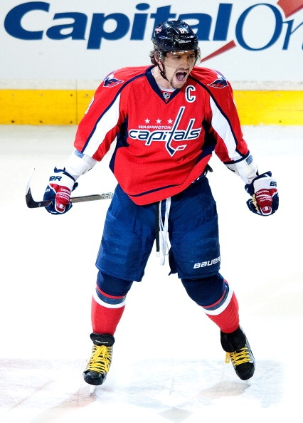 Alex Ovechkin Current Washington Capitals Captain