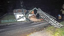 """Sturm, Fluten und Baumschlag: """"Herwart"""" sorgt in Norddeutschland für Chaos"""