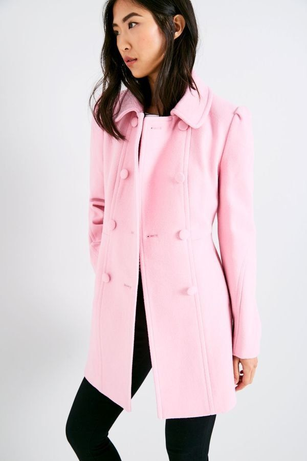 Toss Your Neutral Jacket in the Trash and Wear One of These 14 Pink Coats This Season