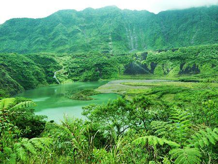 Mt. Galunggung, Tasikmalaya, Indonesia