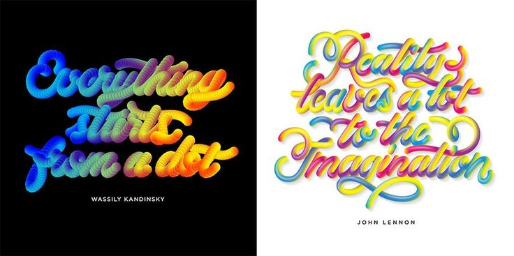 Love the rainbow bright #designquotes by @victorbregante—a perfect start to a sunny weekend http://ow.ly/OKHw4