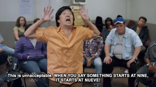 Senor Chang, best freak out ever