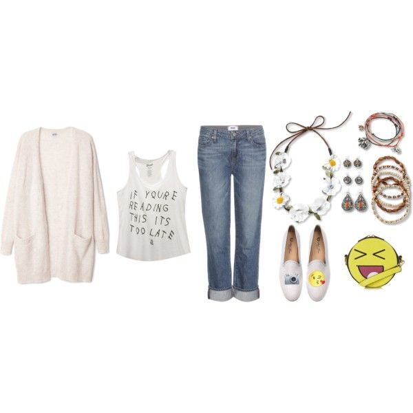 Summer Ready...any summer by letsplaydiy on Polyvore featuring Wet Seal, Paige Denim, Del Toro and Topshop