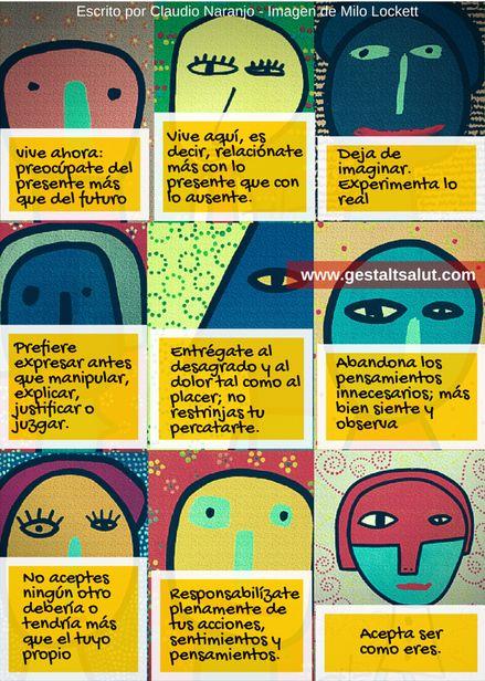 Los 9 Preceptos de la Terapia Gestalt