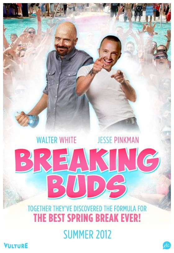 Breaking Buds: Walter White and Jesse Pinkman on Spring Break [Breaking Bad]