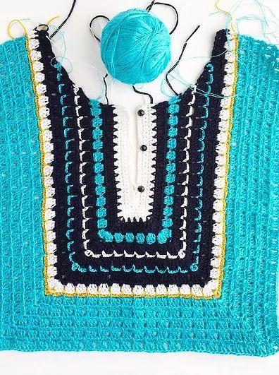 Avalanche Coat Crochet Pattern