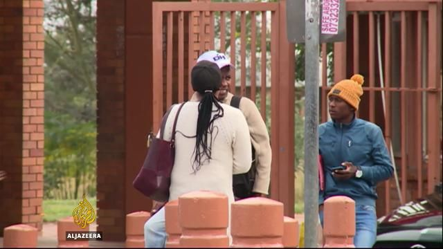 Twenty-six years after the end of apartheid in South Africa, black students believe university campuses are still effectively segregated.