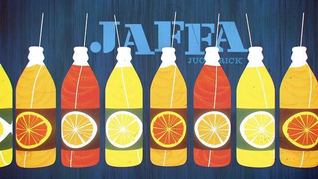Great homage piece that brings to life posters by 85-year-old graphic designer Erik Bruun for the Finnish soft drink Jaffa.