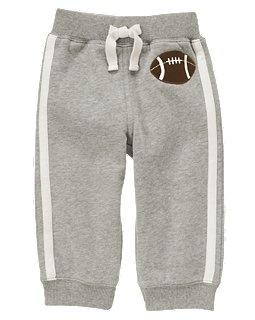 Gymboree. $21.95 Football Fleece Active Pant