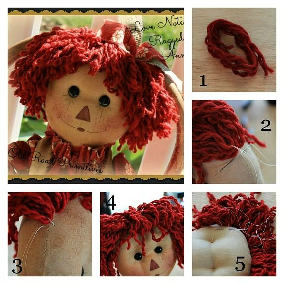 how to make an old fashioned rag doll