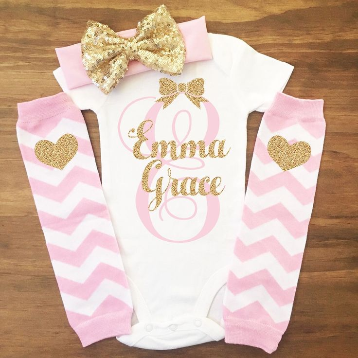 Cool Personalized Baby Girl Outfit Cute Newborn Clothes Coming Home Baby Shower Gift 2017-2018 Check more at http://24myshop.tk/product/personalized-baby-girl-outfit-cute-newborn-clothes-coming-home-baby-shower-gift-2017-2018/