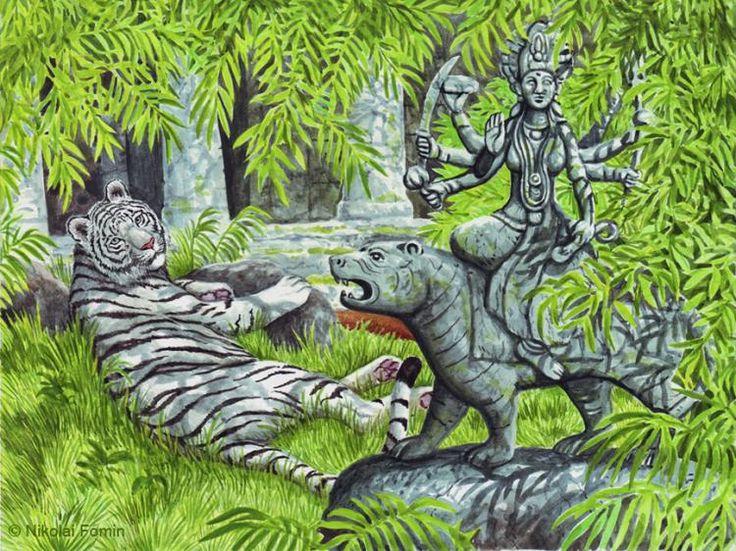 Полоска мрачная, полоска ясная - такая жизнь тигриная контрастная