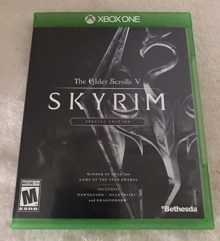 The Elder Scrolls V: Skyrim SPECIAL EDITION for XBOX ONE  | eBay