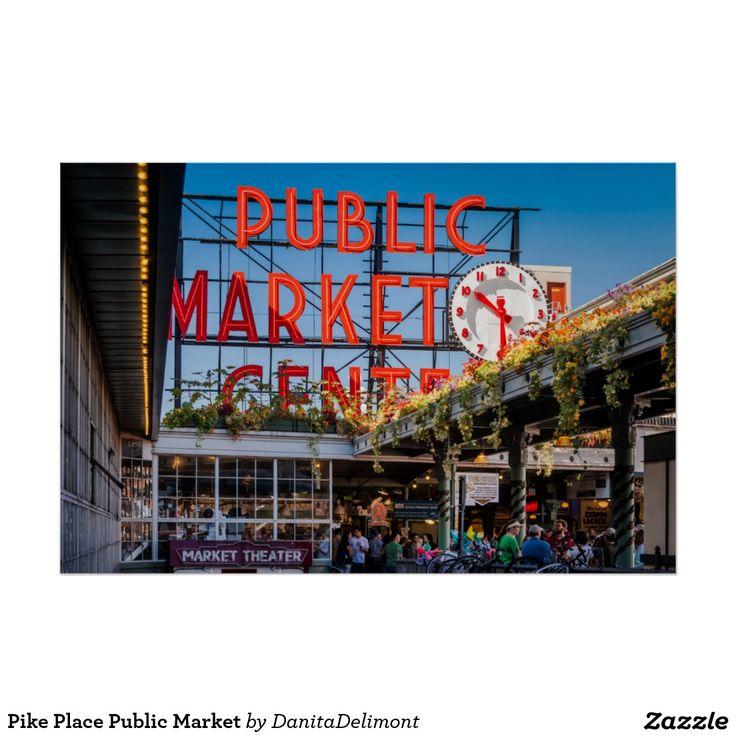 Pike Place Public Market Poster 75 best