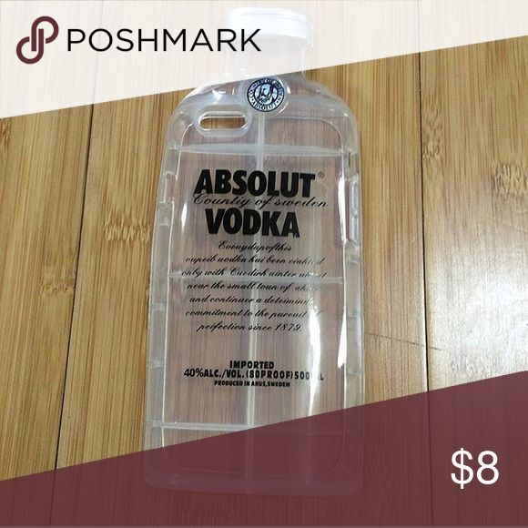 Absolut Vodka iPhone 6/6s phone case Brand new never used. Accessories Phone Cases