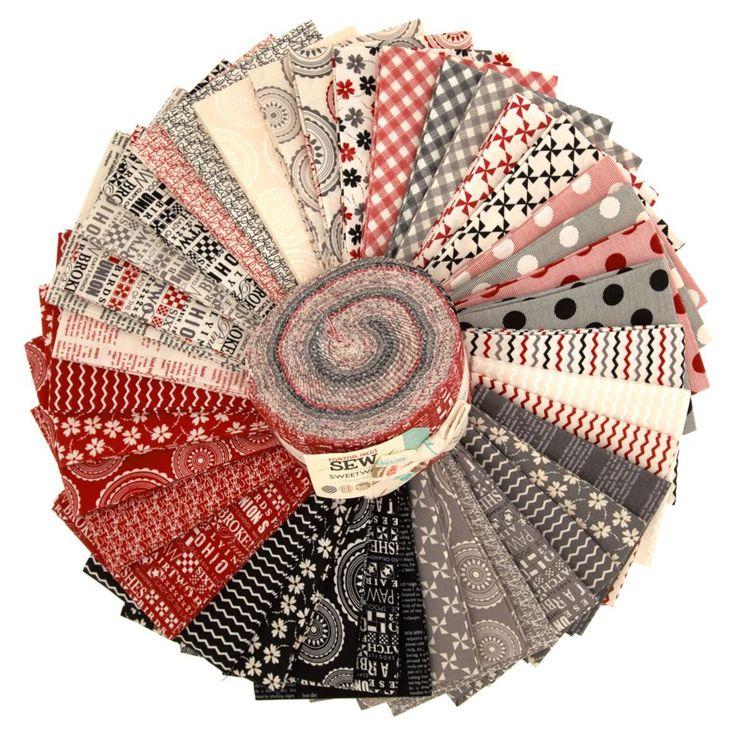 Moda Mama Said Sew 2 1 2 Jelly Roll Fabric Pinterest