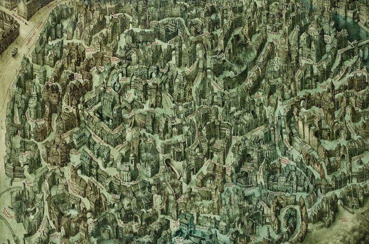 Tajemná Stínadla mají svoji mapu. Autor ji tvořil čtyři měsíce-Foto:Pavel Čech