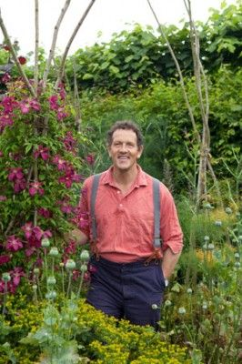 MontyDon- organic farmer and super hero. I love the messiness of British Cottage gardens. Let nature self sow and be a bit unruly.