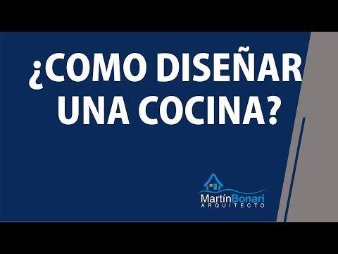 ▶ ¿Cómo Diseñar una Cocina? How to design a kitchen? -Tutorial - YouTube