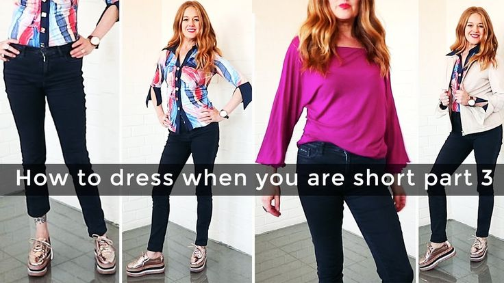 How to dress when you are short for women over 40 part 3 - casual - over...