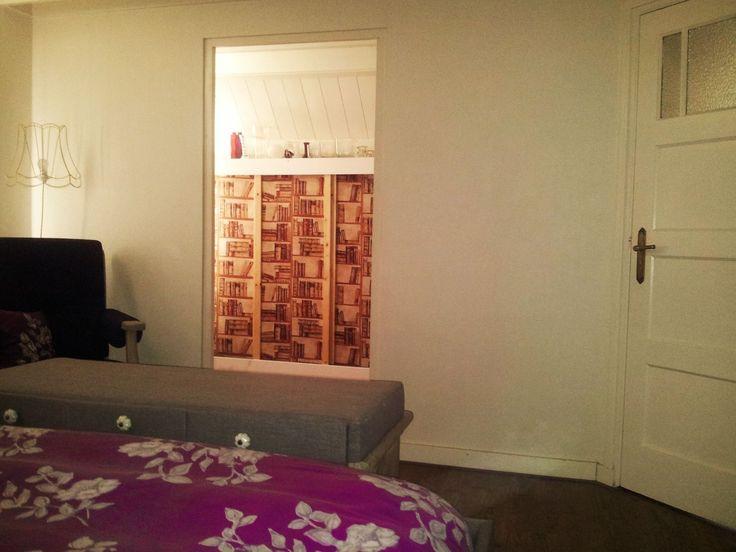 slaapkamer grijs/paars op Studio Vivre
