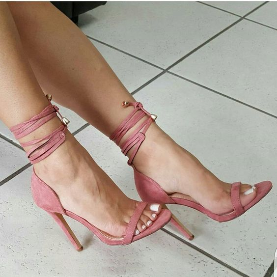 Best 25  Strappy heels ideas on Pinterest | Black strappy heels ...