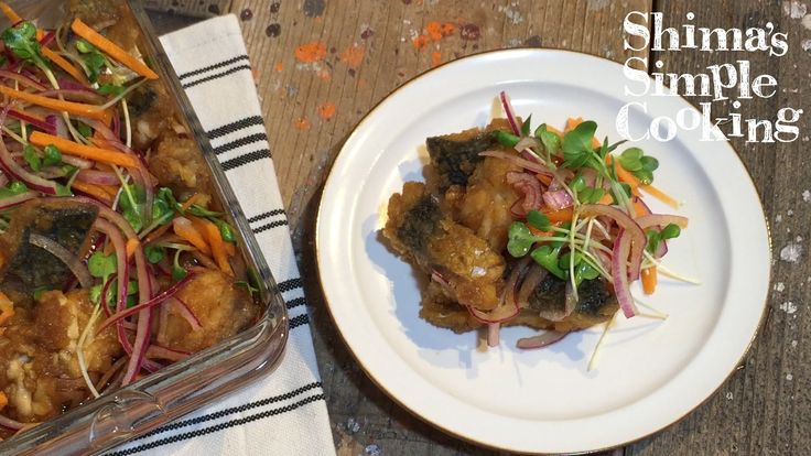 食卓の人気メニュー!栄養バランス良好!お野菜とお魚たっぷり♪ 節約!簡単!美味しい!サバの南蛮漬け