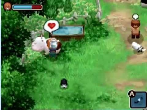 Game nông trại Harvest Moon the Tales of Two Towns - Farm life after wed...