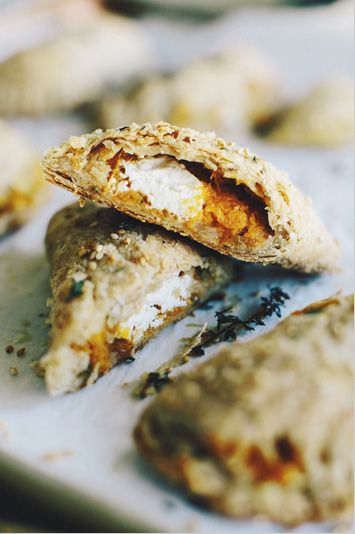 .:  Squash and Goat Cheese Empanadas  :.