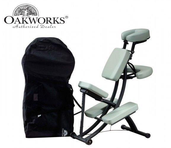 licious adjustable portable massage chair