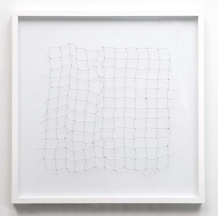 Cornelia Parker - Bullet Drawing 1-10