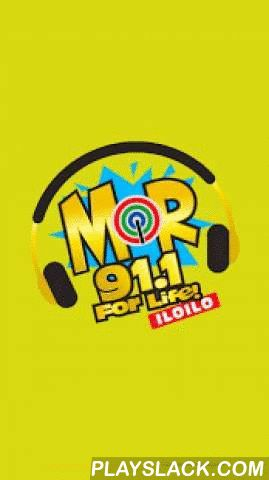 MOR Iloilo 91.1 MHz  Android App - playslack.com ,  MOR Iloilo DYMC 91.1 MHz is a commercial Radio Station owned and operated by ABS-CBN Broadcasting Corporation. The Studio and Transmitter are located at ABS-CBN Broadcast Complex, Luna Street, La Paz, Iloilo City Philippines. MOR For Life! is broadcasting at 91.1 Mhz. on the FM Band and reaches worldwide listeners through live audio webcast courtesy of www.amfmph.com.Please rate us 5 star if you enjoy this…