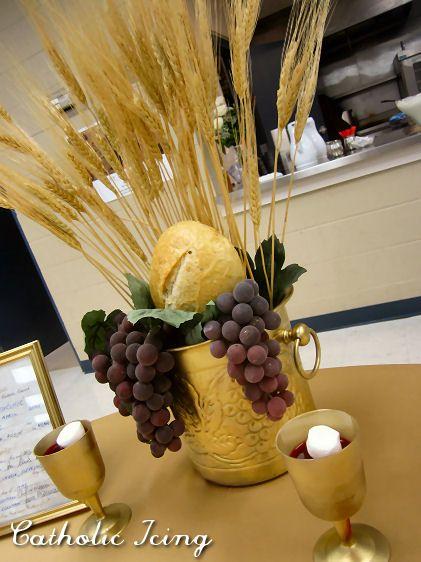 first communion centerpiece idea
