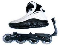 roller adaptable aux chaussures skateroller pinterest rollers